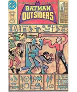 Batman and the Outsiders Comic Book #17 DC Comics 1985 NEAR MINT NEW UNREAD - $3.50
