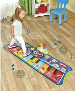 Step to Play Junior 10 Key Piano Mat™ Plays and Records Music - $44.95