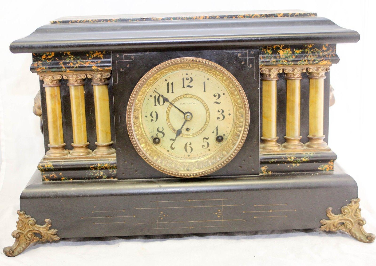 Seth Thomas Clock 121 Listings