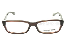 New Dolce & Gabbana  DG 1207-1839 Brown Acetate 51 16 135 Authentic - $86.45