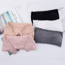 Seamless One-piece Tube Tops Women Strapless Padded Bra Bandeau Tube Top... - $15.99