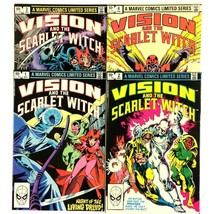 Vision and the Scarlet Witch 1-4 1982 Complete Series Marvel Magneto Bro... - $14.80