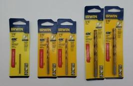 """(New) Irwin 1/16"""", 3/16"""", 5/16"""" Titanium Drill Bit Set - $28.70"""