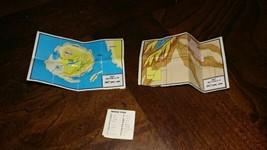 VTG Barbie Doll Travel War ARMY Map Brochure Aboard Ship Treasure Morse ... - $44.95