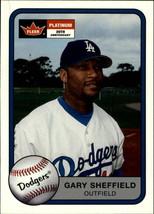 2001 Fleer Platinum #90 Gary Sheffield NM-MT Dodgers - $1.99