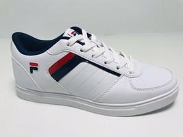 Men's Fila Davenport 4 White | Navy | Red Fashion Sneakers - $69.00