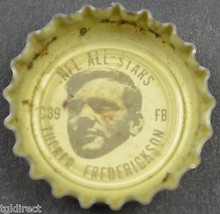 Coca Cola NFL All Stars King Size Bottle Cap N.Y. Giants Tucker Frederickson - $6.99