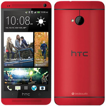 """Htc one m7 red 2gb 32gb quad core 4.7"""" hd screen android 4g lte smartphone - $168.80"""