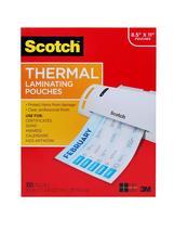 Scotch thermal laminating pouches stock photo 1 thumb200