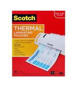 "4 x Scotch Thermal Laminating Pouches, 8.9"" x 11.4"", 3 mil thick, 100-Pack - $40.00"