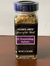 """Trader Joe's """"Spices of the World"""" 21 Seasoning Salute, 2.2oz (62g) New & sealed - $7.50"""