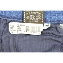 7 For All Mankind jeans cropped 29 x 24 NWT raw hem USA image 11