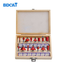 Core Drill Bit Carbide Router Bits Milling Cutter Wood Carving Engraving... - $27.99