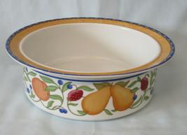 """Dansk Fiance Fruit Round Serving Bowl 9"""" Orange - $49.39"""