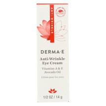 Derma E Anti - Wrinkle Vitamin A Eye Cr�me - 0.5 oz. - $19.03