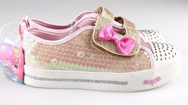 Toddler Girls' S Sport by Skechers Gold Crystal Stars Madelyne Light Up Sneakers image 2
