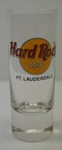 """Hard Rock Cafe """"Ft. LAUDERDALE"""" Collectible Slender Shot Glass - $13.59"""