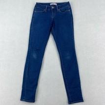 No Boundaries Denim Jeans Women's Size 1 Blue Skinny Ankle Regular Fit L... - $18.95