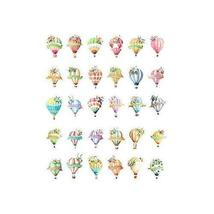 Post Cards Helium Balloon Shape Greeting Cards Set of 30 - £11.83 GBP