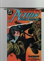 Action Comics Weekly #616 - September 1988 - DC Comics - Blackhawk, Supe... - $2.70