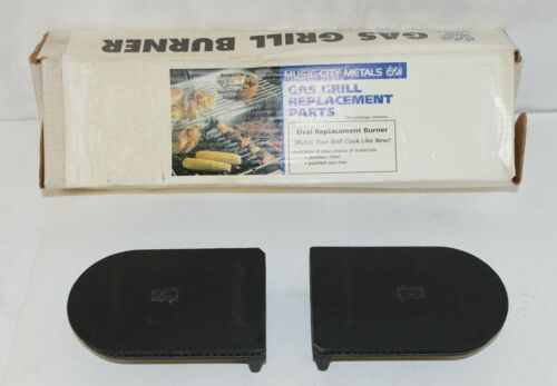 Music City Metals 21502 Gas Grill Burner Two Pieces Cast Iron
