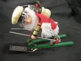 Kurt Adler Hershey Elf on Skis Christmas Ornament with Tag - $6.92