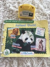 Leap Frog Baby Little Touch ANIMAL WORLD Book Cartridge English Spanish - $4.50