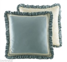 Croscill Home Corfu Euro Pillow Sham Sky Blue - $19.75