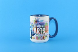 Disney Epcot Festival Of Arts 2018 Coffee Tea Mug Cup Mickey Goofy Rafiki Simba - $44.55
