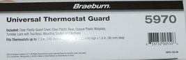 Braeburn Brand Universal Thermostat Guard Fits Virtually All Thermostats image 4