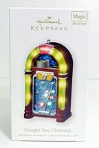 """Hallmark Keepsake Ornament """"Swingin' Into Christmas"""" Jukebox Magic Light... - $15.88"""