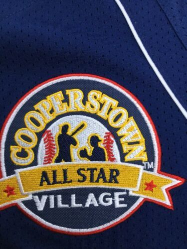 Cooperstown All Star Village Youth XL MLB Blue Jersey Red Sox Green Monster #5