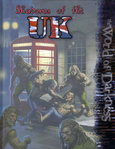 Shadows of the UK - World of Darkness - HC - White Wolf - 2006 - WW30202 - $8.81