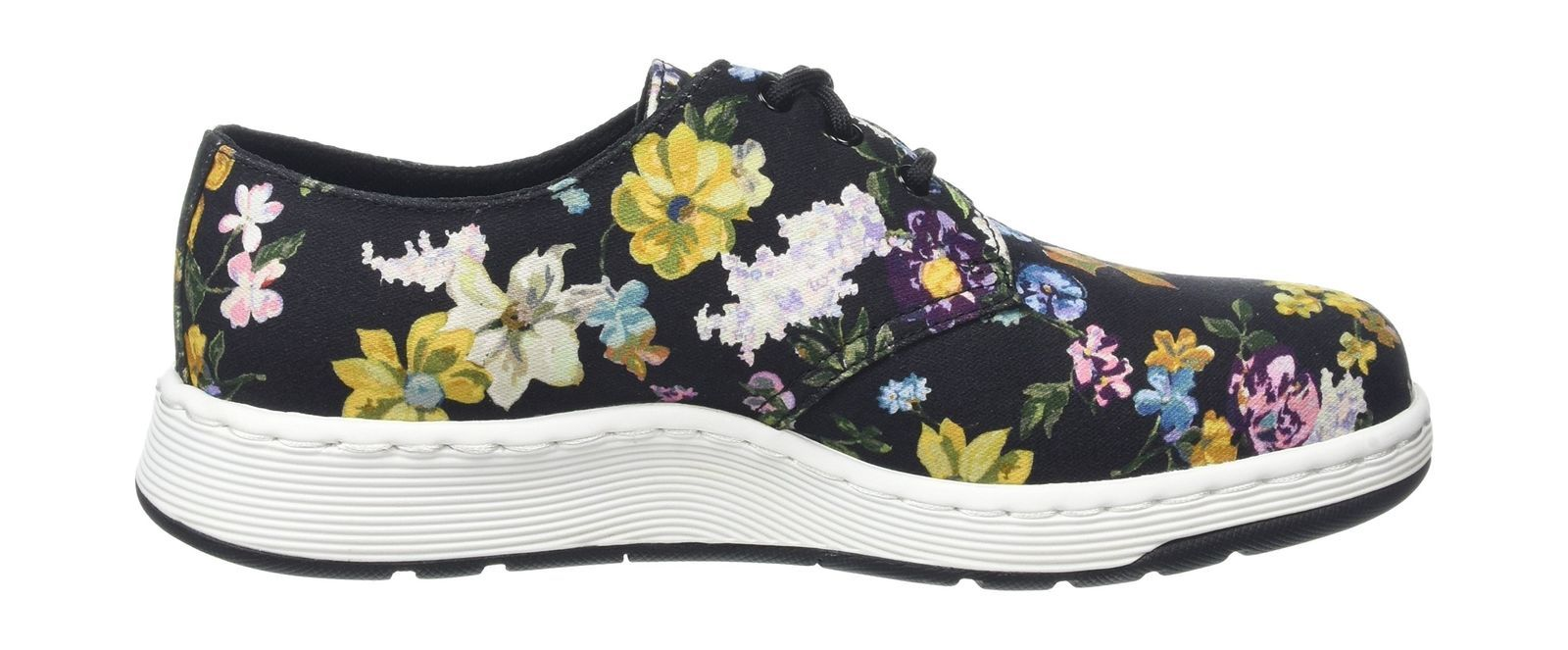 Womens Cavendish Df Black Darcy Floral Fine Can Trainers Dr. Martens 4fea3