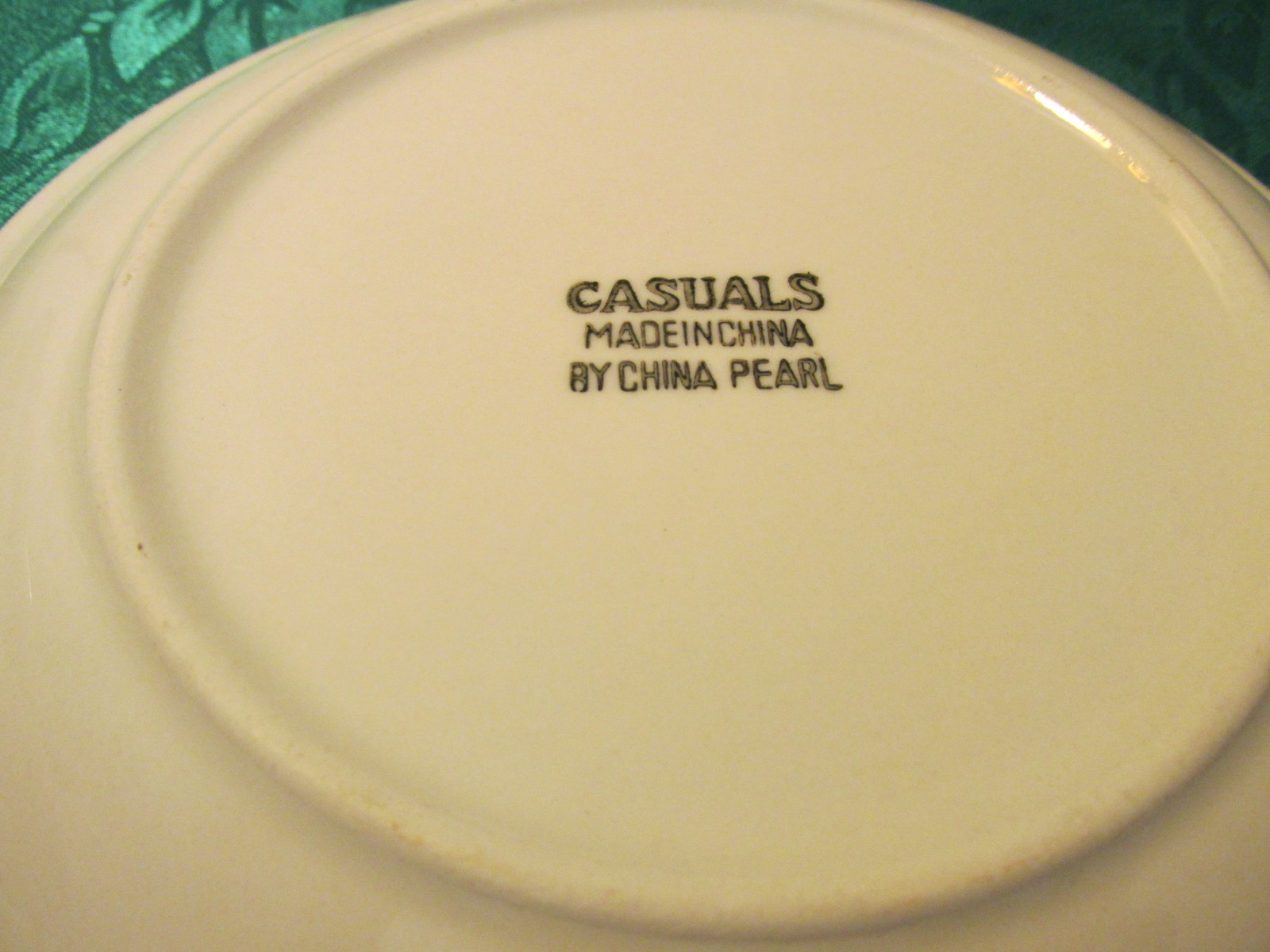 Casuals Made By China Pearl Set Of Four Salad Plates 7 1/2""