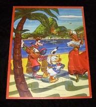 Disney Frame Tray Puzzle Donald Duck Goofy Vintage Jaymar - $22.99