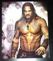 Jason Momoa Hand Signed 8x10 Photo COA Batman VS Superman Aquaman - $120.00