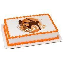 Skateboarder Edible Cake Topper Image - $9.99+