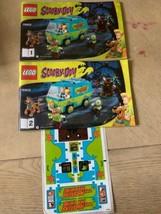 Lego Scooby-Doo 75902 Instruction Booklet Van Mystery Machine Manual & S... - $12.86