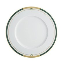 Vista Alegre Porcelain Emerald Dinner Plate - Set of 4 - $199.95