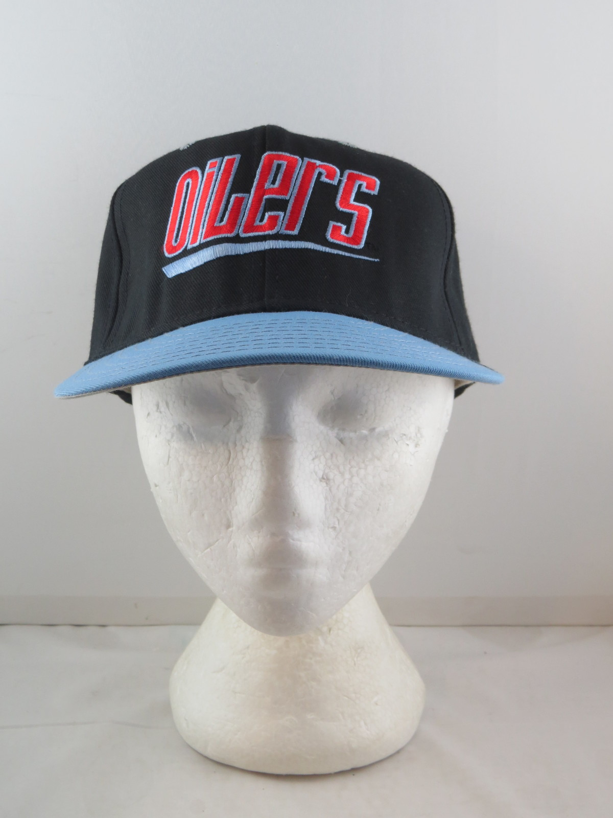 Houston Oilers Hat (VTG) - Zooming Script by Annco - Adult Snapback