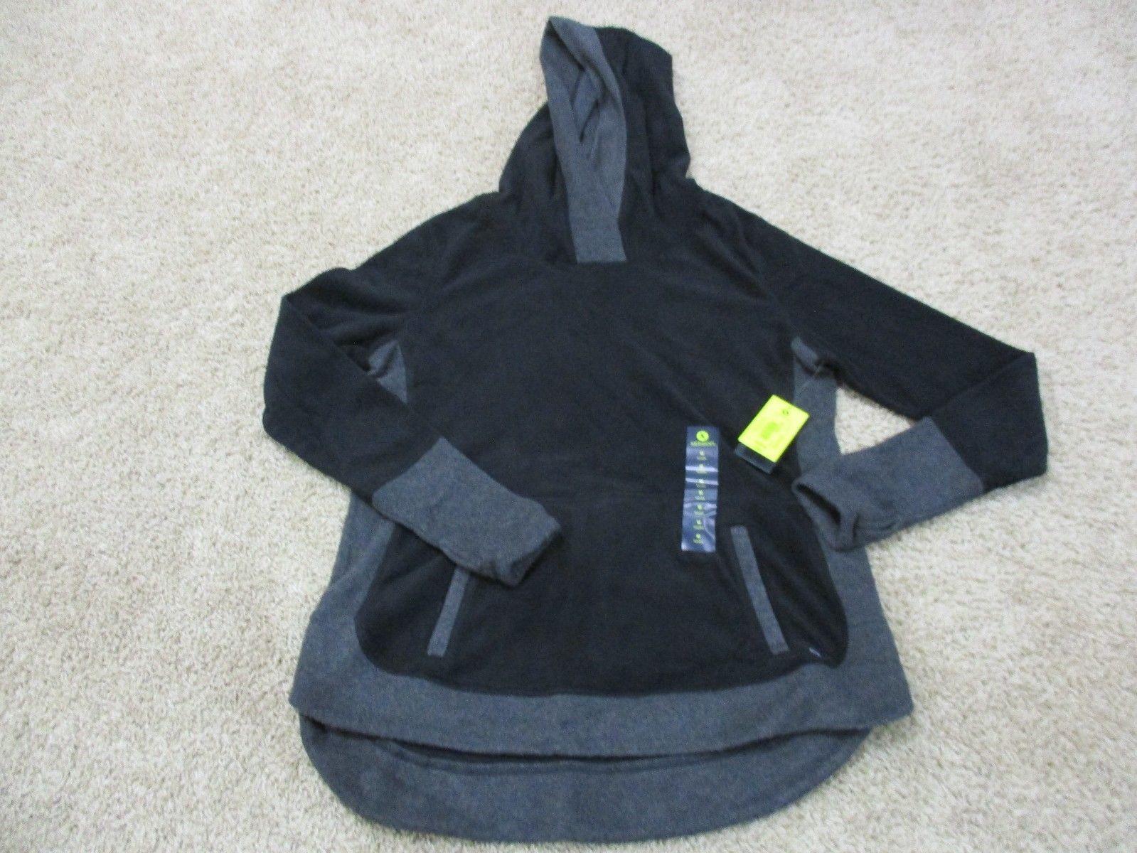 Xersion Graphic Sweatshirt New Size S M Grey