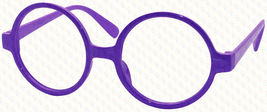Classic Vintage Round Wizard Costume Nerdy Glasses Frames NO LENS Spectacle Wear image 11