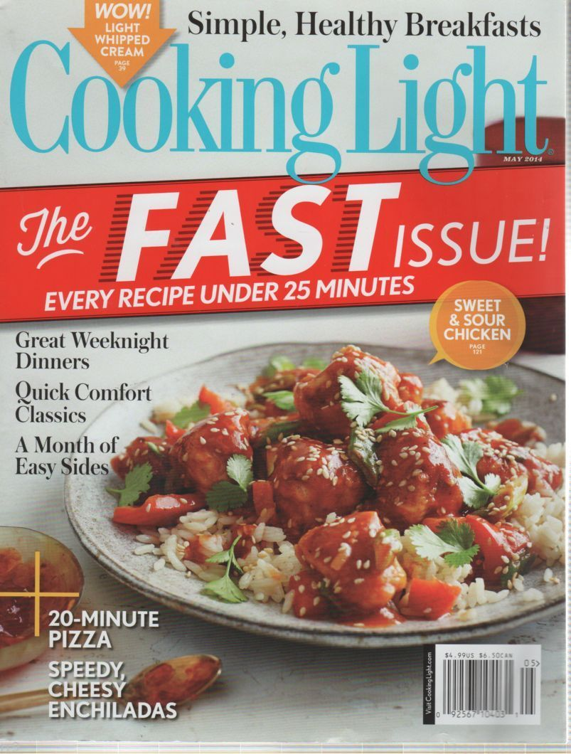 Primary image for Cooking Light Magazine May 2014 Simple, Healthly Breakfasts