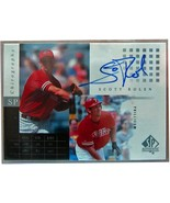 2000 SP AUTHENTIC CHIROGRAPHY #SR SCOTT ROLEN - $15.79