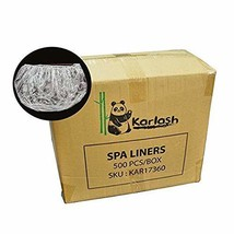 Karlash Ultra Premium Spa Disposable Liners Big Size Fits all Pedicure S... - $67.66