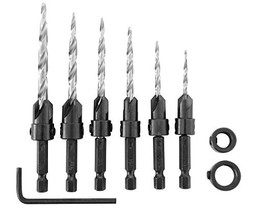 Irwin Tools 1882792  SPEEDBOR Countersink Wood Drill Bit, 8-Piece - $39.52