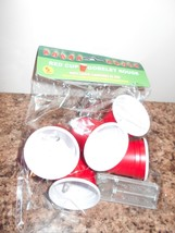 New Red Solo Cup Goblet Party Lights String of 5 - $3.61