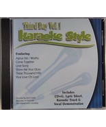 Third Day Volume 1 Christian Karaoke Style NEW CD+G Daywind 6 Songs - $15.86