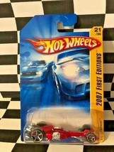 Hot Wheels 2007 First Edition FE 021 Ferracin Nitro Scorcher Base Red o5 - $5.93